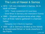 the lure of hawaii samoa1
