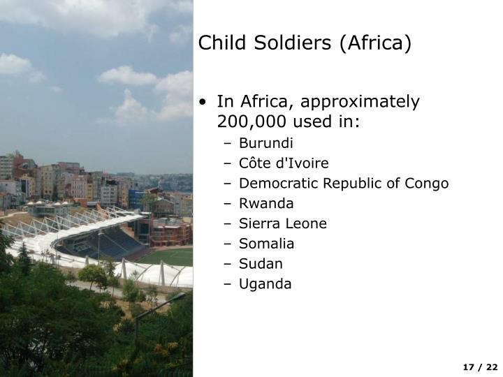 Child Soldiers (Africa)