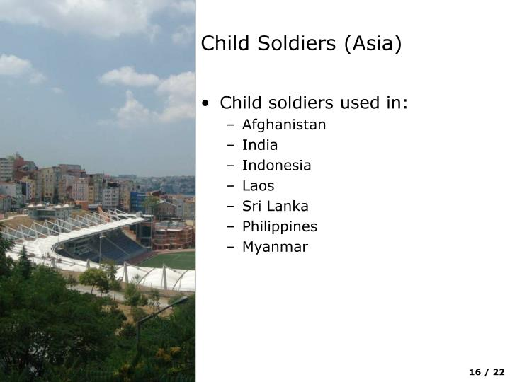 Child Soldiers (Asia)