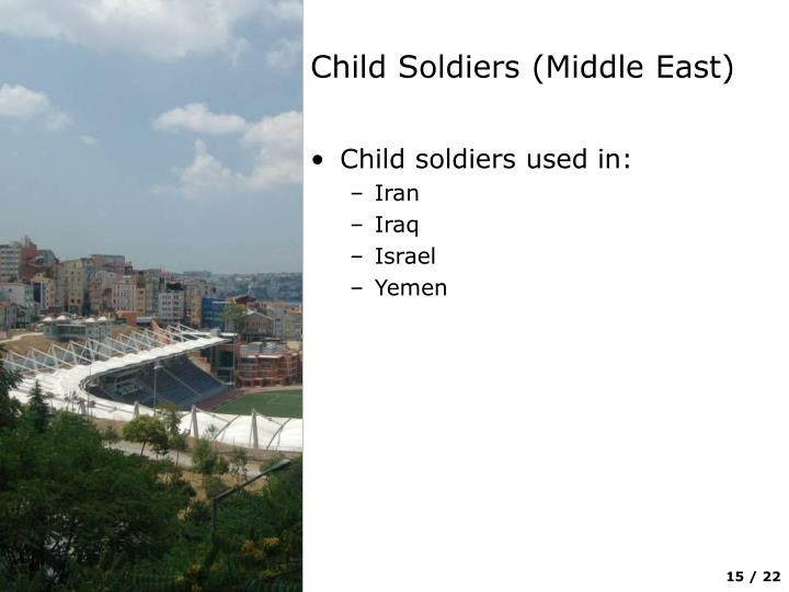Child Soldiers (Middle East)