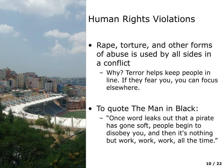 Human Rights Violations