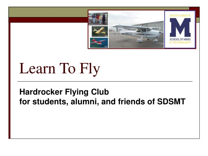 learn to fly n.