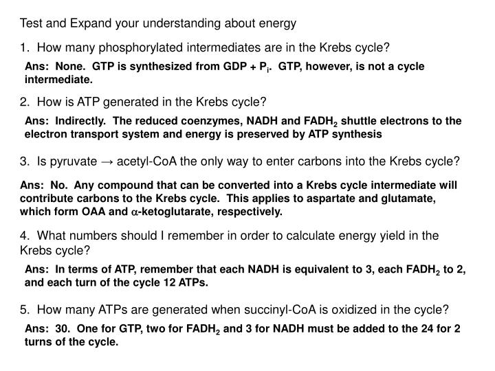 Test and Expand your understanding about energy
