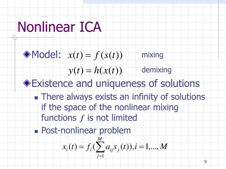 Nonlinear ICA