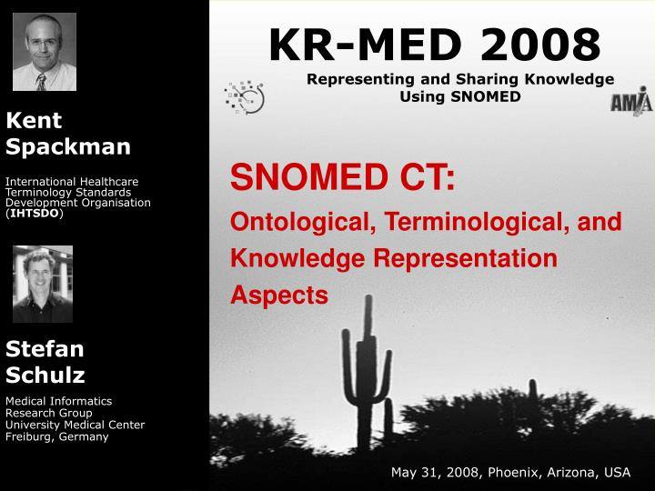 snomed ct ontological terminological and knowledge representation aspects n.