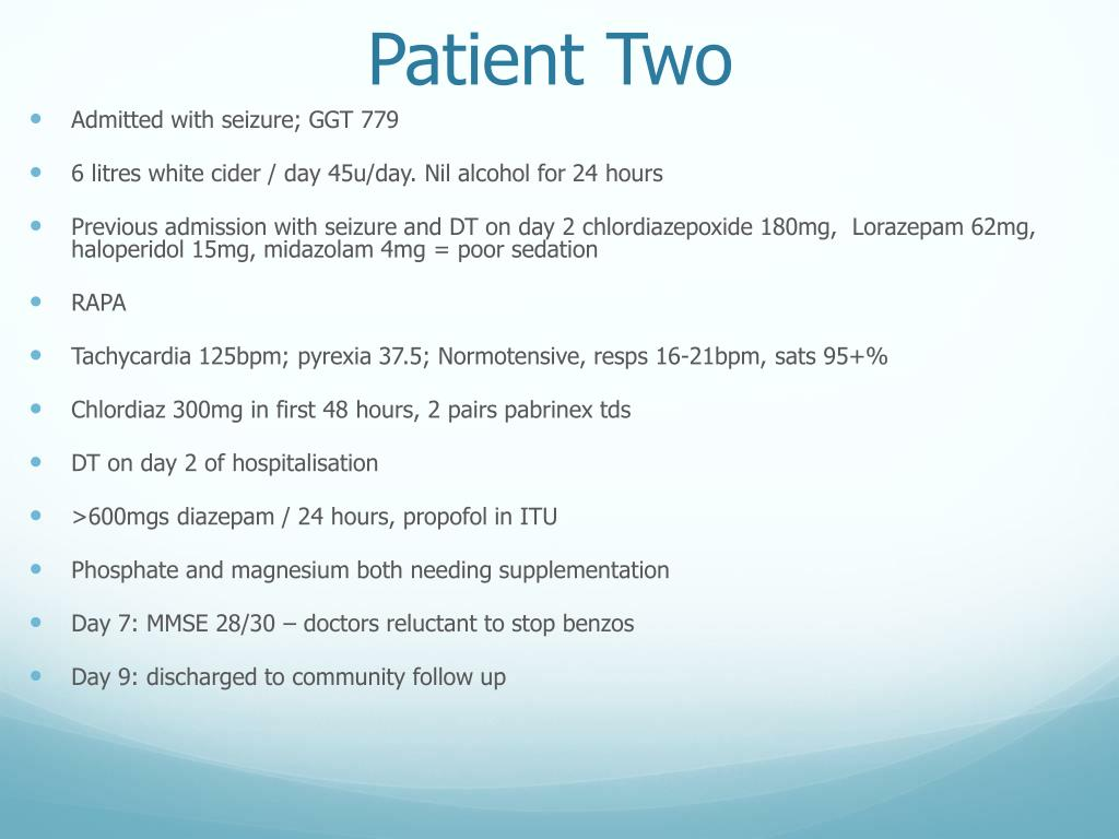 PPT - Alcohol Withdrawal Management PowerPoint Presentation - ID:4181420