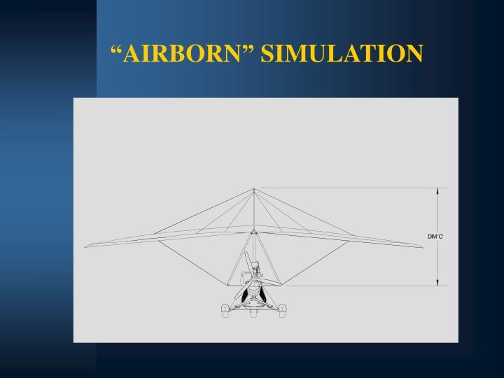 """AIRBORN"" SIMULATION"