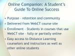online companion a student s guide to online success1