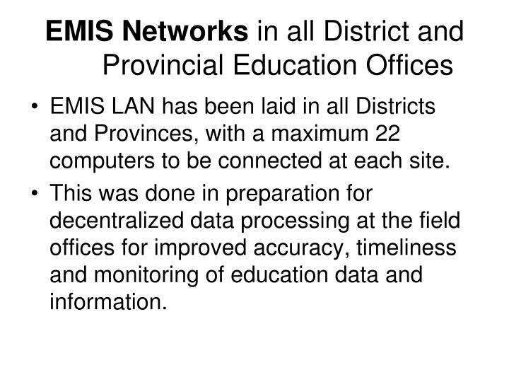 EMIS Networks