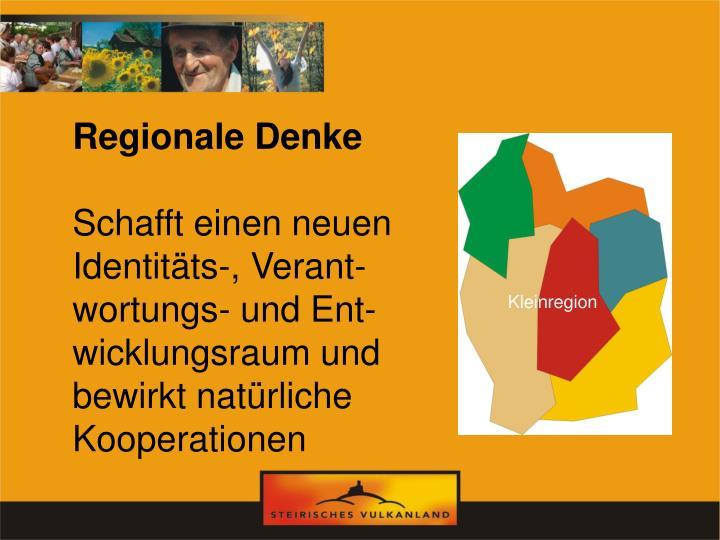 Regionale Denke