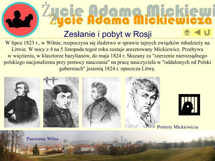 Portrety Mickiewicza