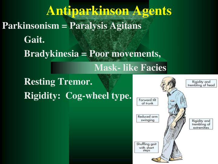 Antiparkinson agents