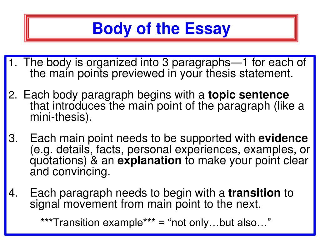 English prose coursework