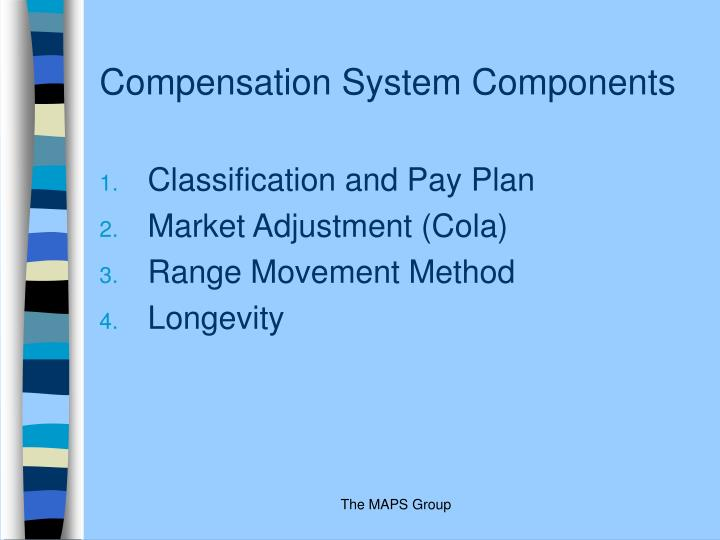 Compensation System Components