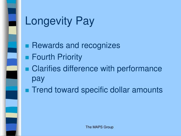 Longevity Pay