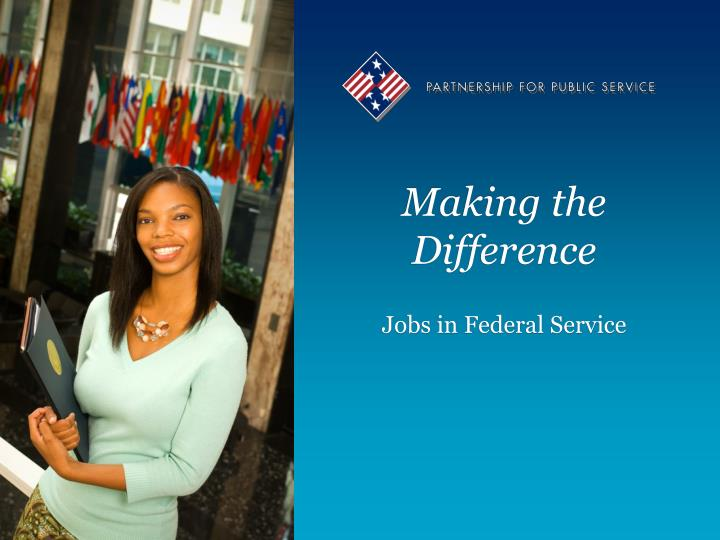 making the difference n.