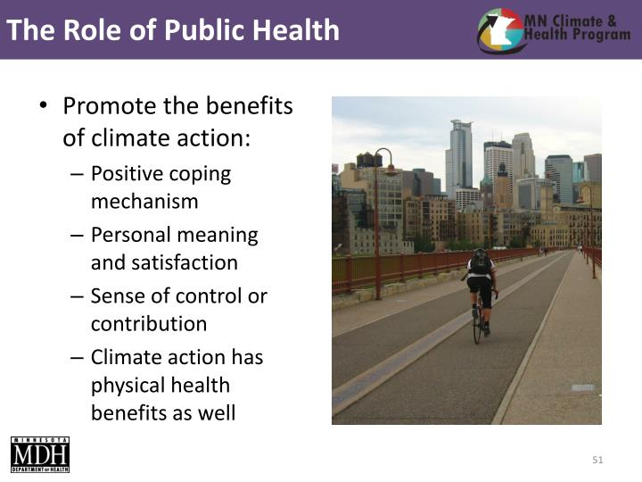 The Role of Public Health