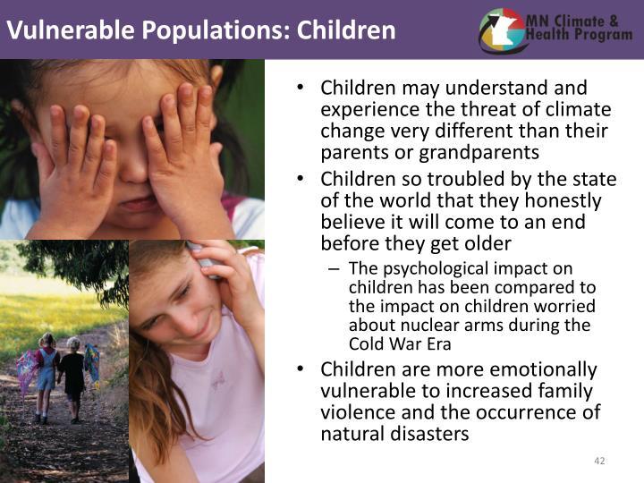 Vulnerable Populations: Children