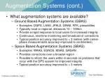 augmentation systems cont