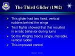 the third glider 1902
