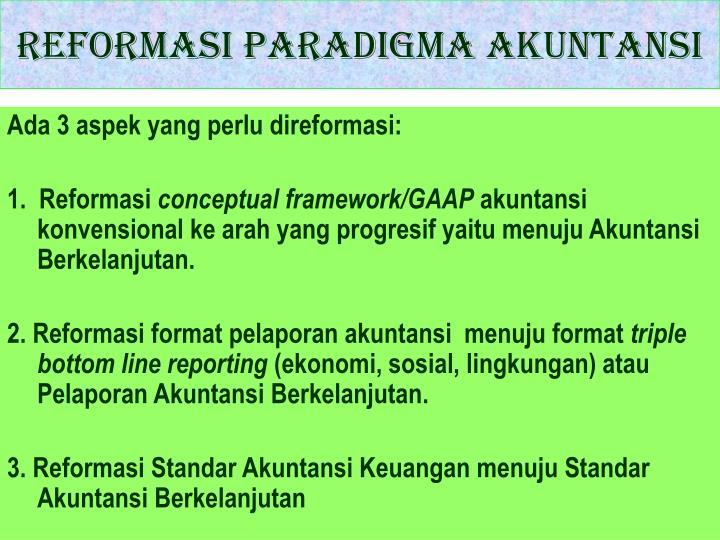sustainability reporting adalah