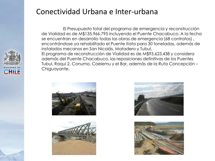 Conectividad Urbana e Inter-urbana