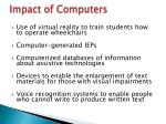 impact of computers1