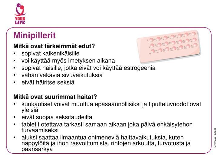 Minipillerit