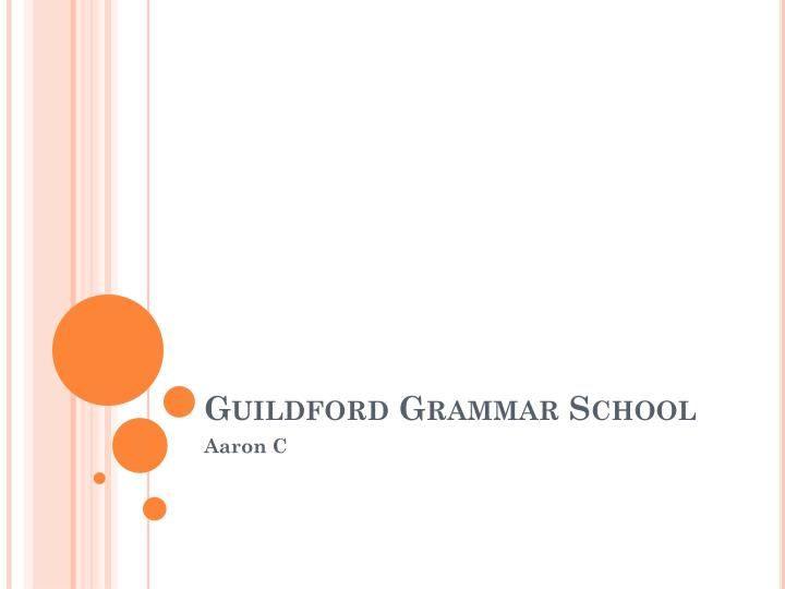 guildford grammar school n.
