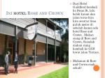 ini hotel rose and crown