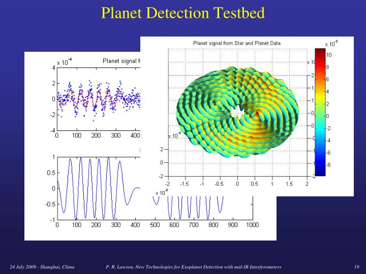 Planet Detection Testbed
