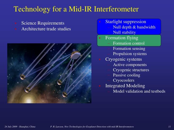 Technology for a Mid-IR Interferometer