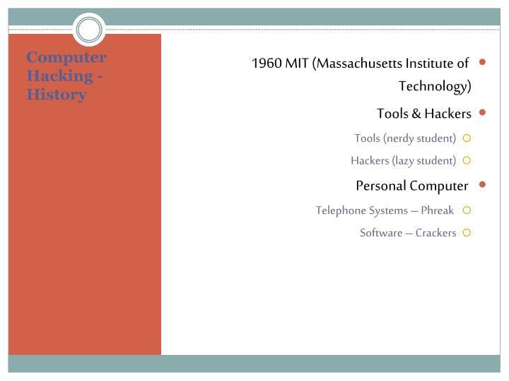 1960 MIT (Massachusetts Institute of Technology)