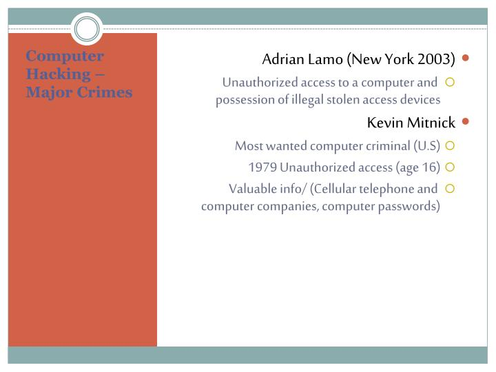 Adrian Lamo (New York 2003)