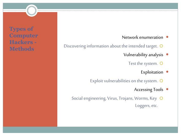 Network enumeration