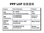 ppp lcp