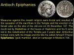 antioch epiphanies1