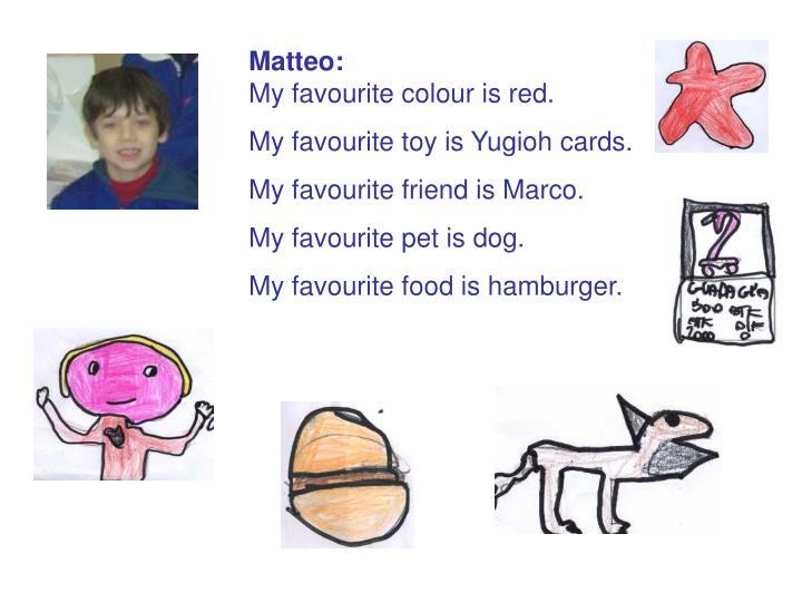 Matteo: