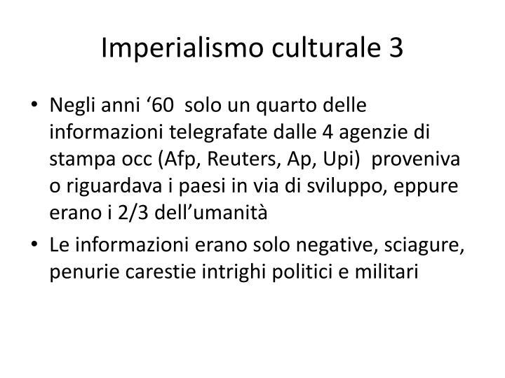 Imperialismo culturale 3