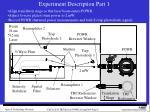 experiment description part 1