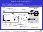 experiment description part 2