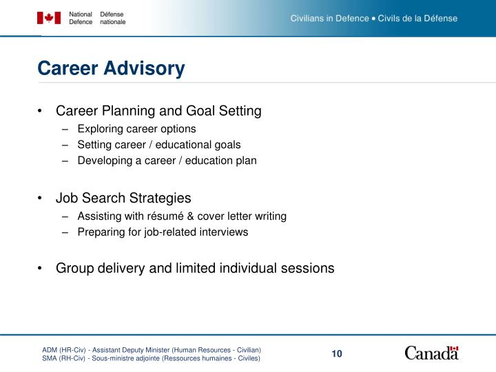 Career Advisory