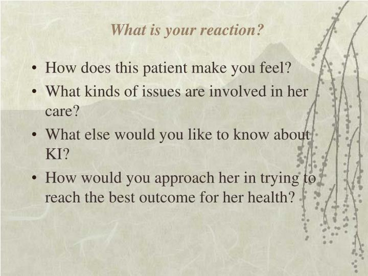What is your reaction?