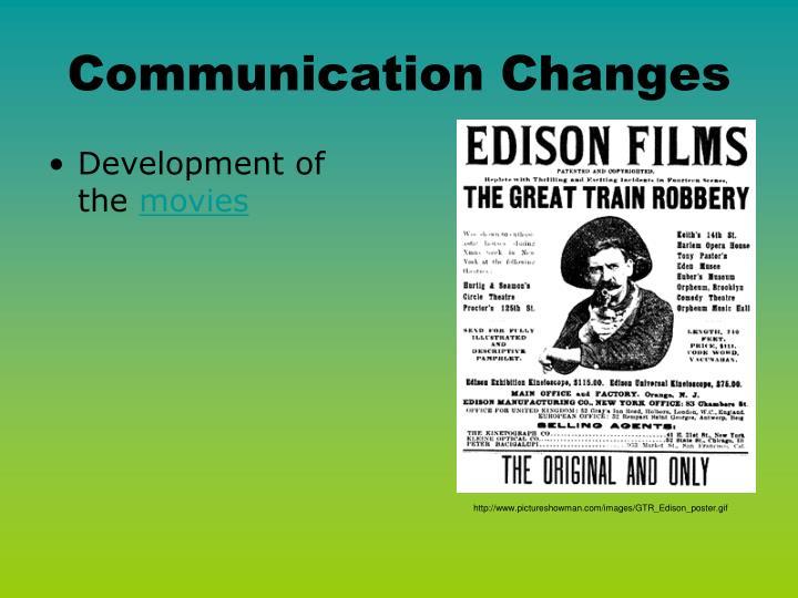 Communication Changes
