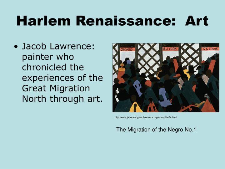 Harlem Renaissance:  Art