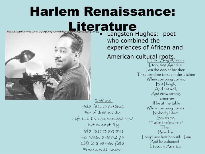 Harlem Renaissance:  Literature
