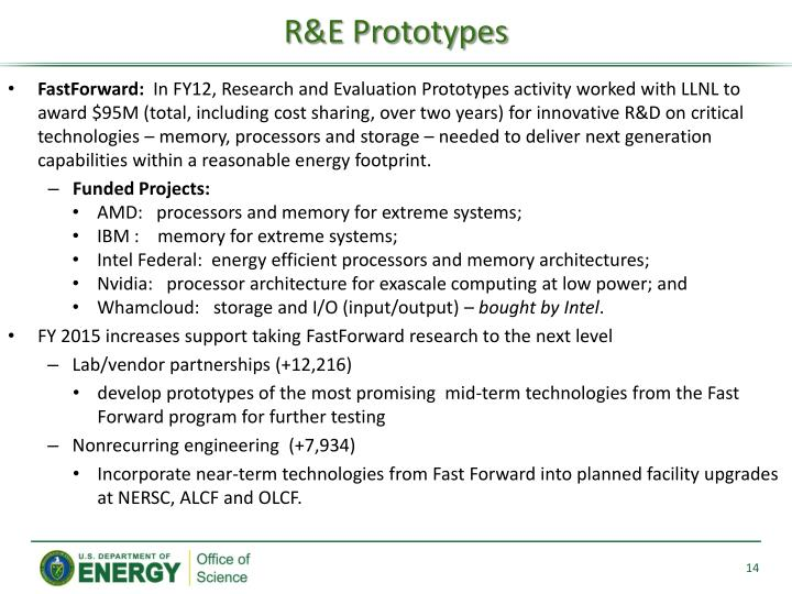 R&E Prototypes