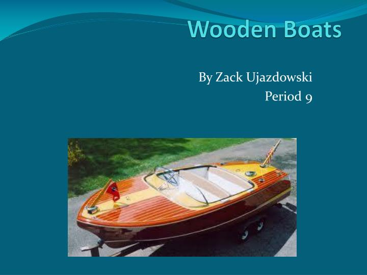 wooden boats n.