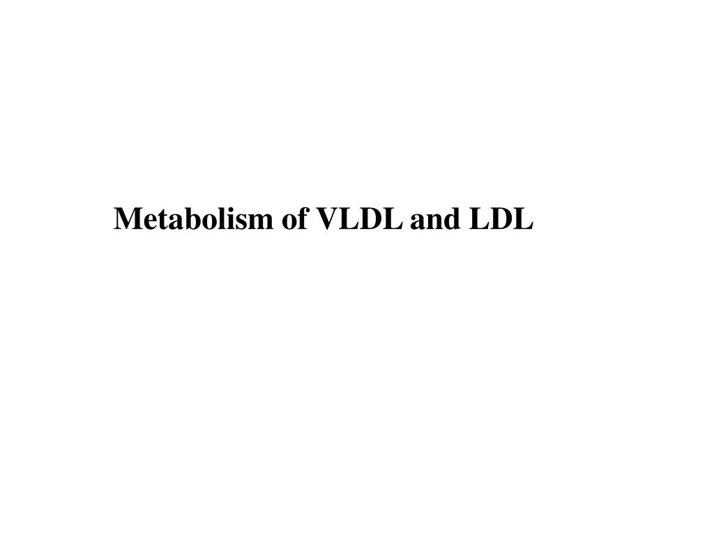 PPT - Lipoprotein Structures, Function and Metabolism