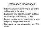 unforeseen challenges1